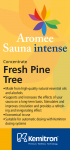 Esencia do sauny KEMITRON 1 l fresh pine tree
