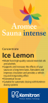 Esencia do sauny KEMITRON 1 l ice melon